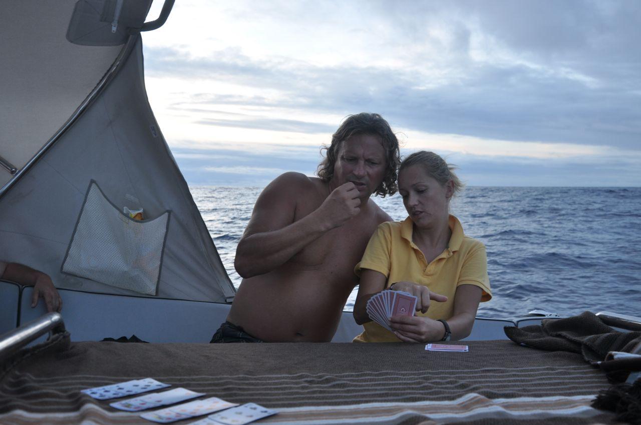 przez Kanał Panamski i dalej na Galapagos