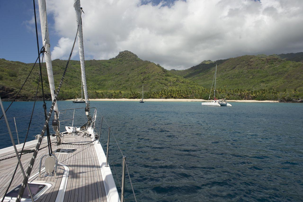 Tahuata i postoj w Hanamoenoa Bay (11-12.08)