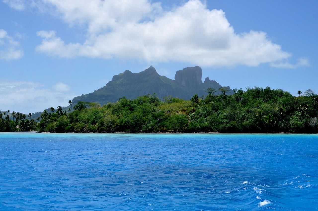 w drogę na Bora Bora