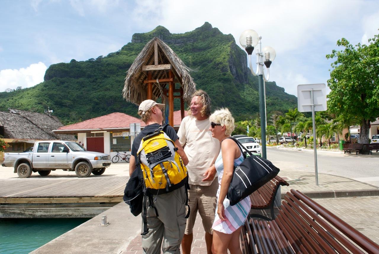 ostatnie chwile z Małgosią i Piotrem na Bora Bora