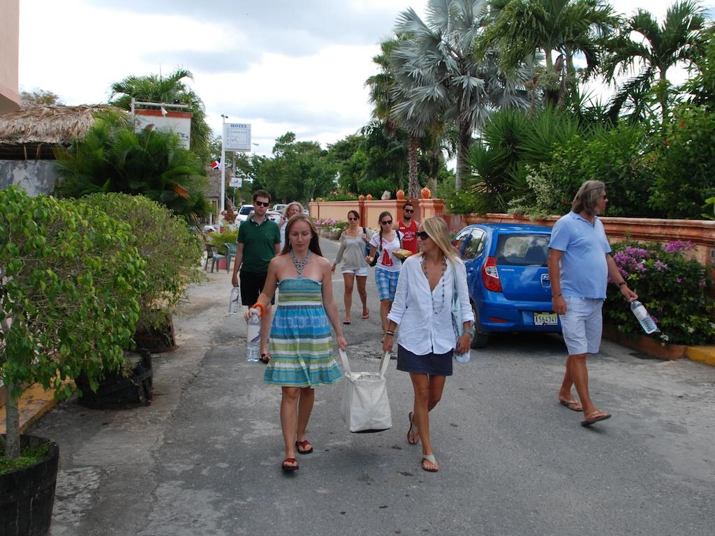 niedzielne plażowanie na Dominikanie