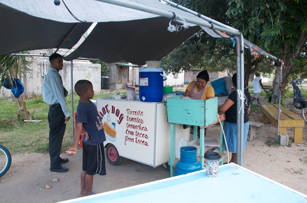 Autobusem na południe Belize