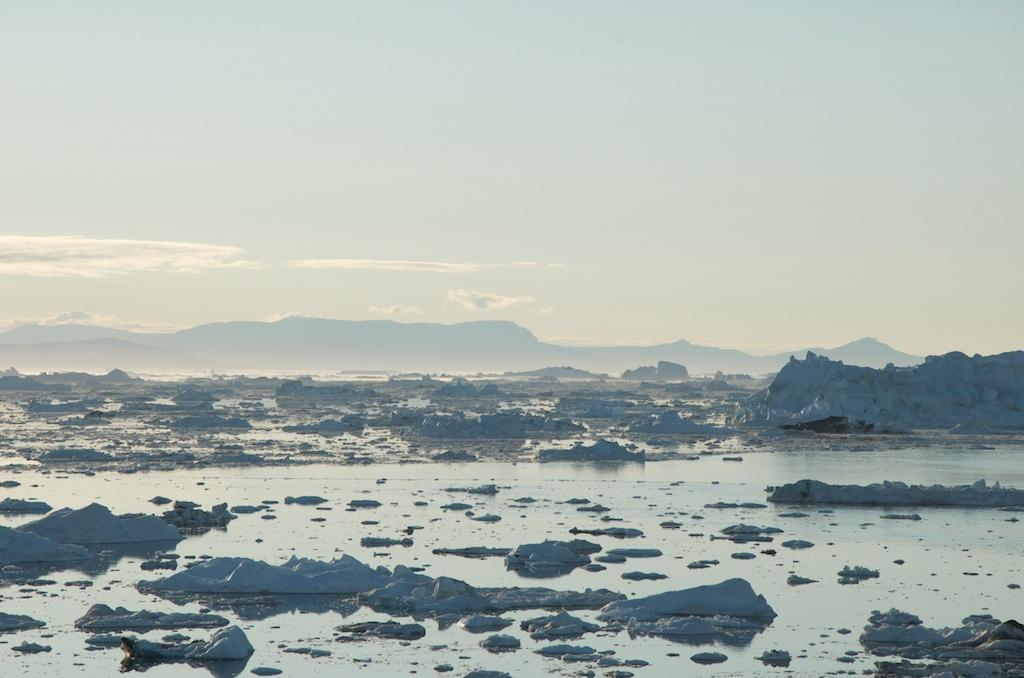 W lodach Disko Bay