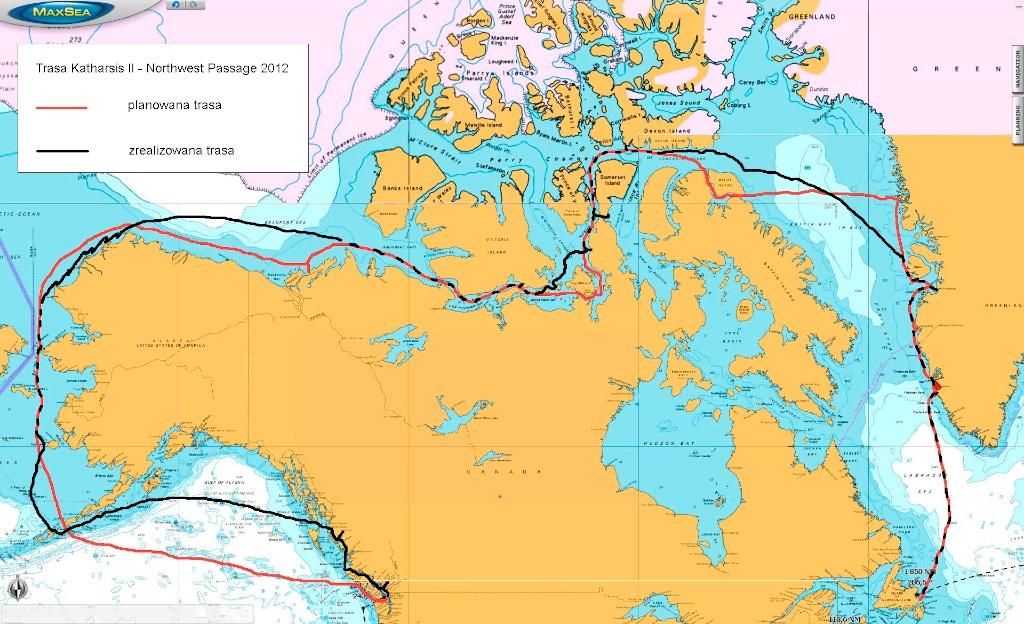 Northwest Passage – trochę liczb i podsumowań