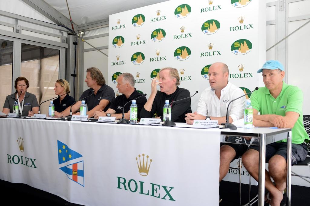 Treningi na Katharsis II przed Rolex Sydney Hobart Race 2014