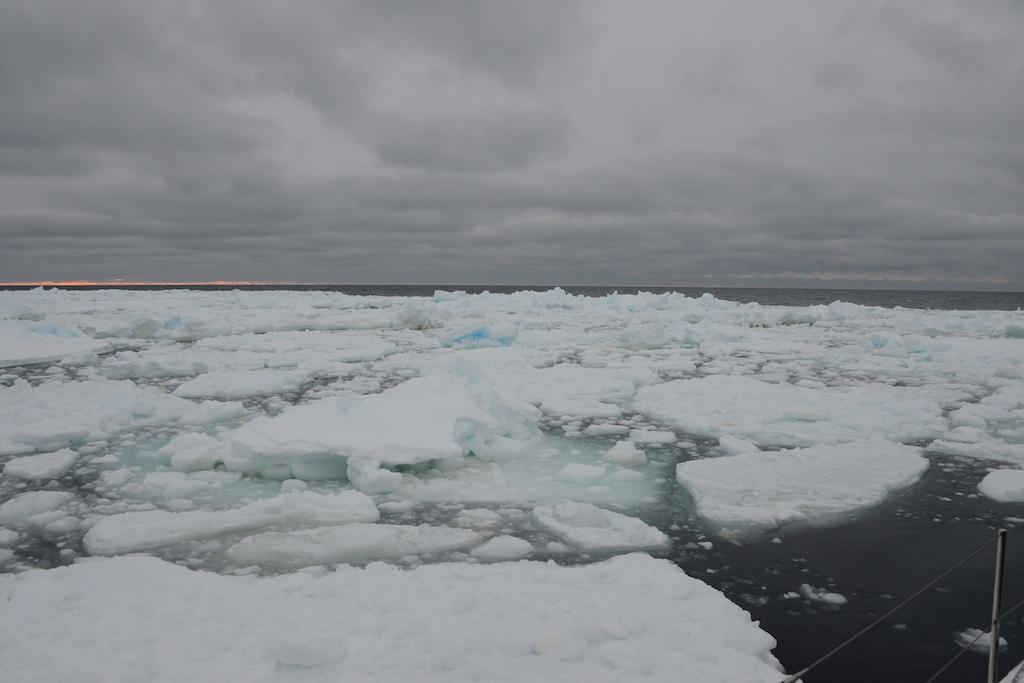 Bay of Whales, południowy kraniec świata