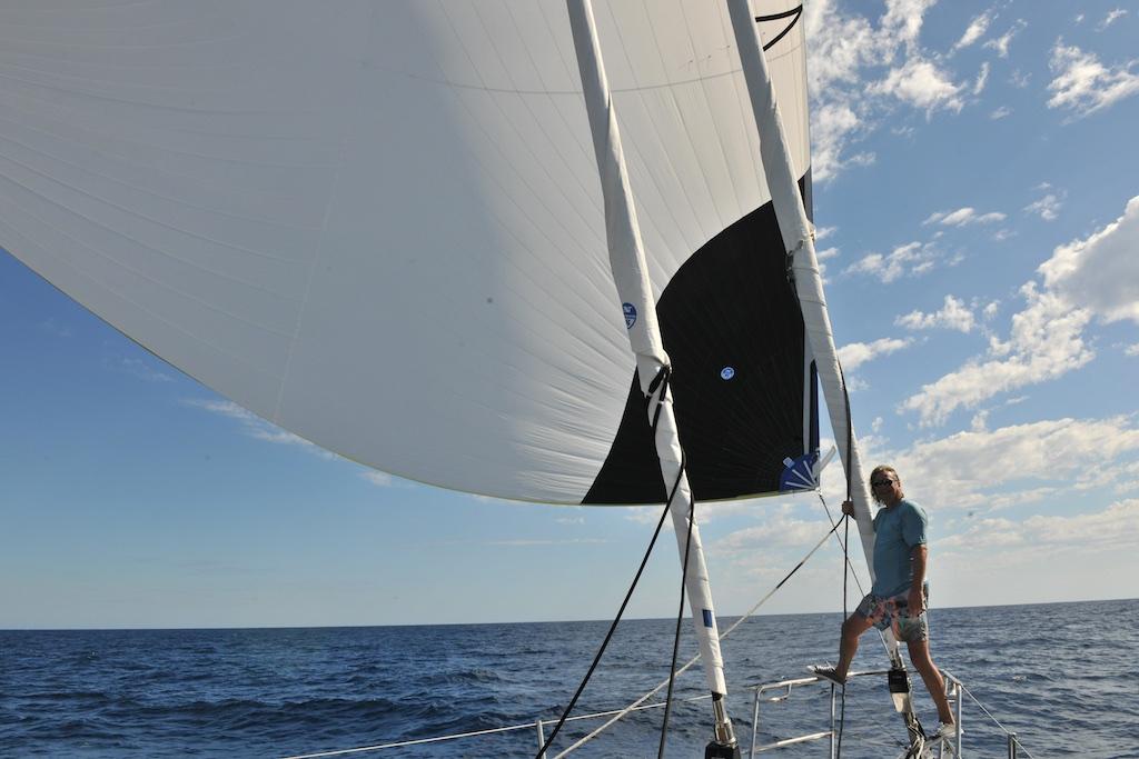Spokojna żegluga Kanałem Mozambickim
