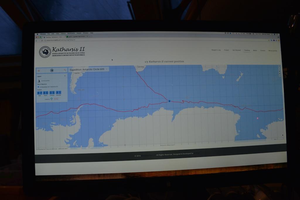 Dookoła Antarktydy w 72 dni
