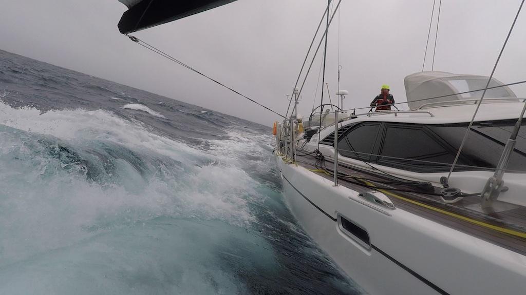 Ocean Południowy w drodze do Hobart